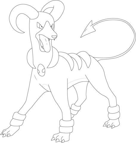 Pokemon Samurott Coloring Pages