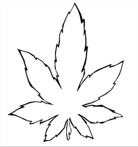 Marihuana Para Colorear Group With 57+ Items