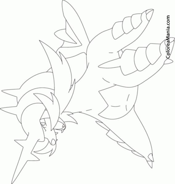 Colorear Samurott  Generation V Pokemon (pokemon), Dibujo Para