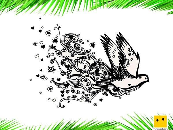 Dibujos De Amor Y Paz Para Colorear Con Los Niños