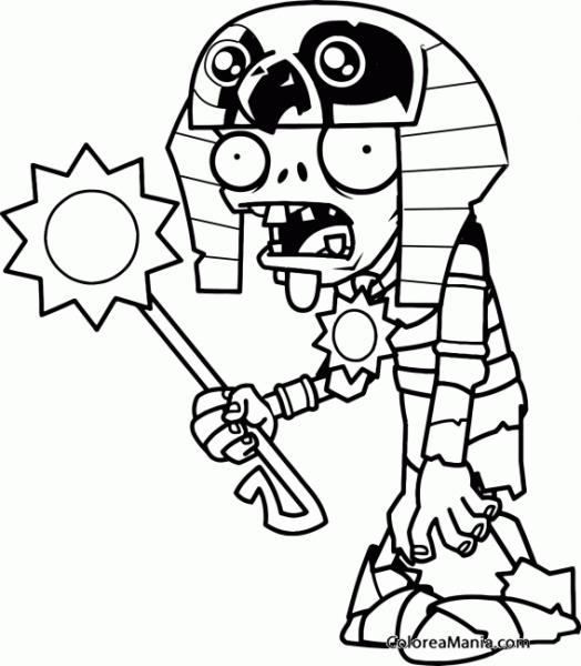 Colorear Plantas Y Zombies (plants Vs Zombies), Dibujo Para