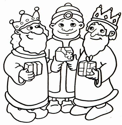 Dibujos Y Plantillas Para Imprimir  Reyes Magos