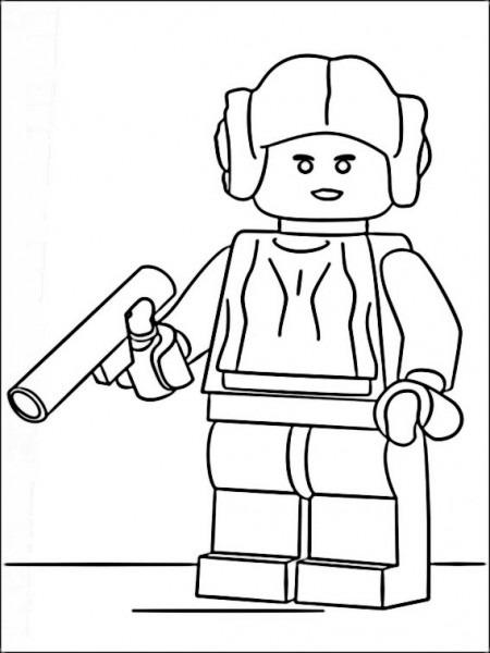 Dibujos Para Imprimir Lego Star Wars 13