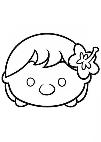 Disney Tsum Tsum Para Colorear Lilo