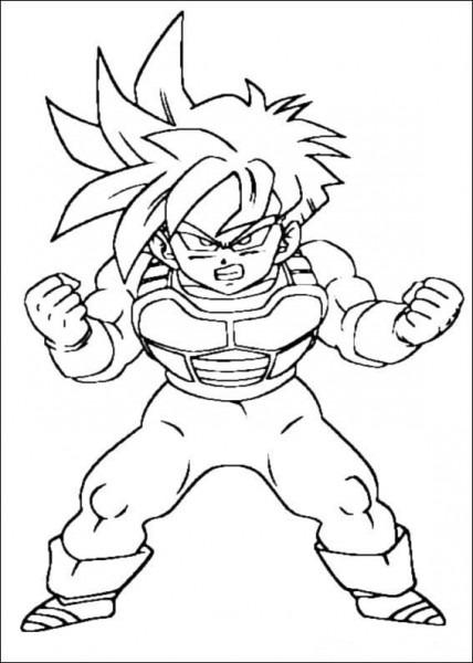 Dibujo De Dragon Ball Para Imprimir