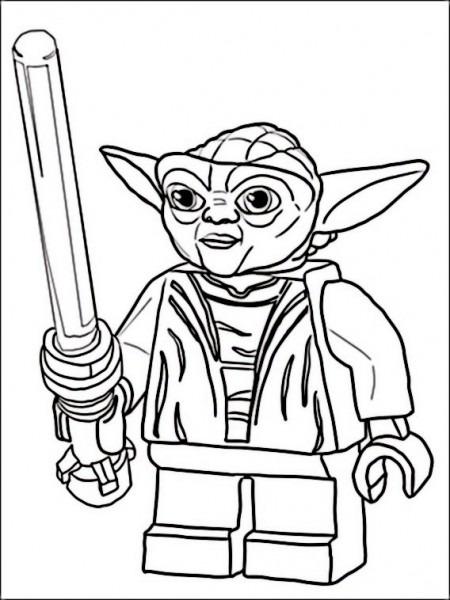 Dibujos Para Colorear Para Niños Lego Star Wars 1