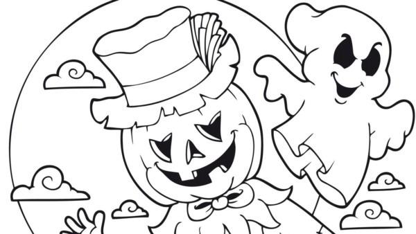 60 Dibujos De Terror Para Colorear En Halloween