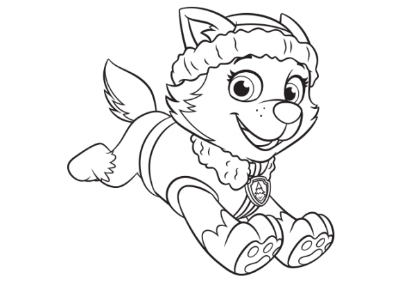 Nick Jr  Coloring And Other Paw Patrol Printables