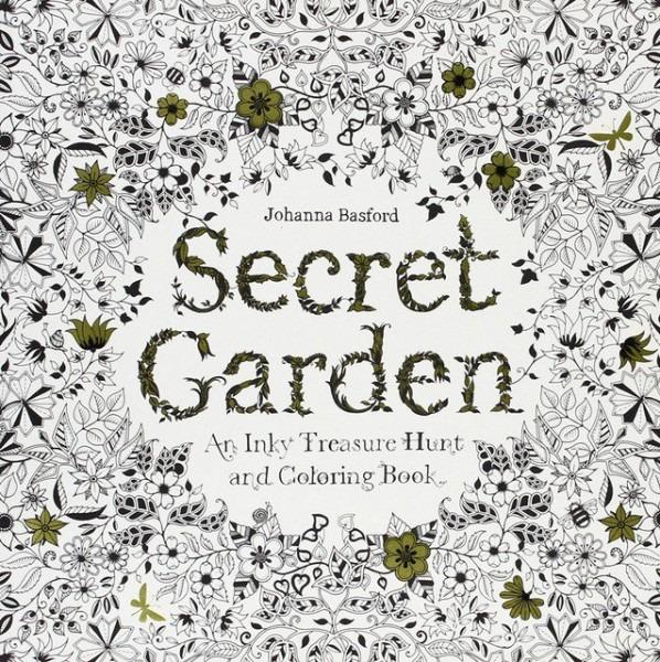 Secret Garden Libro Para Colorear