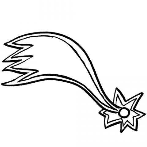 Dibujo De La Estrella De Oriente Para Colorear  Dibujos De Navidad