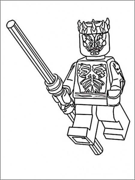 Dibujos Para Pintar Para Niños Lego Star Wars 2
