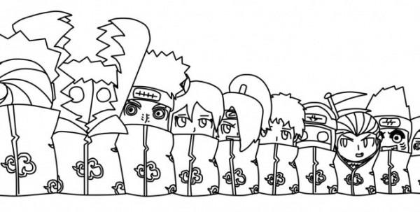 Naruto Para Colorear