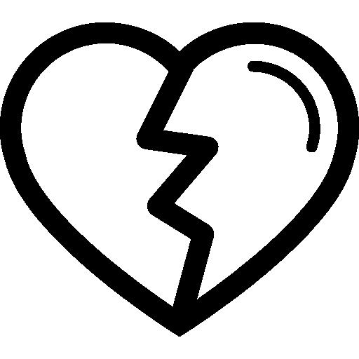 La Forma Del Corazón Con La Variante De Crack