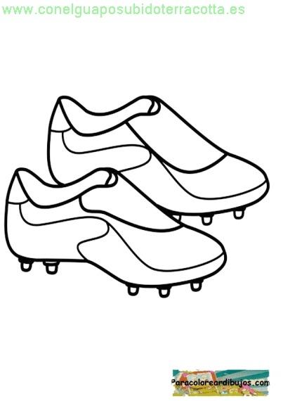 Zapato De Futbol Para Colorear Conelguaposubidoterracotta Es