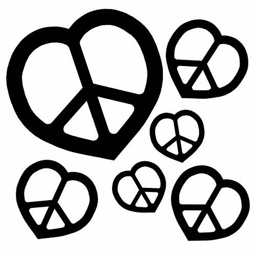Simbolos Corazones De Paz