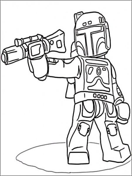Dibujos Para Imprimir Lego Star Wars 3