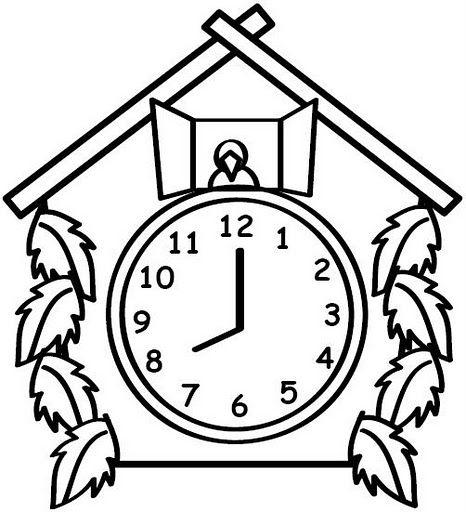 Relojes Animados Para Pintar