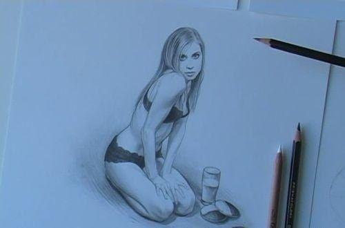 Como Dibujar Chicas Desnudas Con Un Lápiz