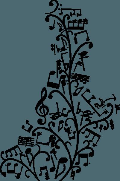 Notas Musicales Para Colorear