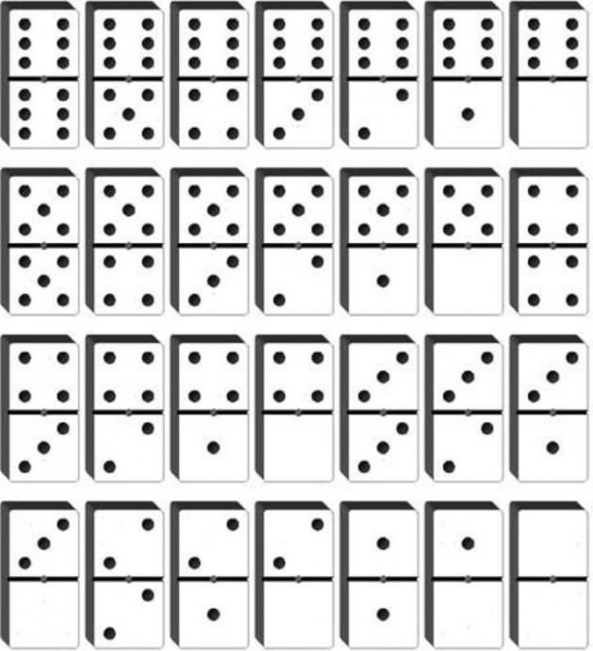 Domino Para Recortar
