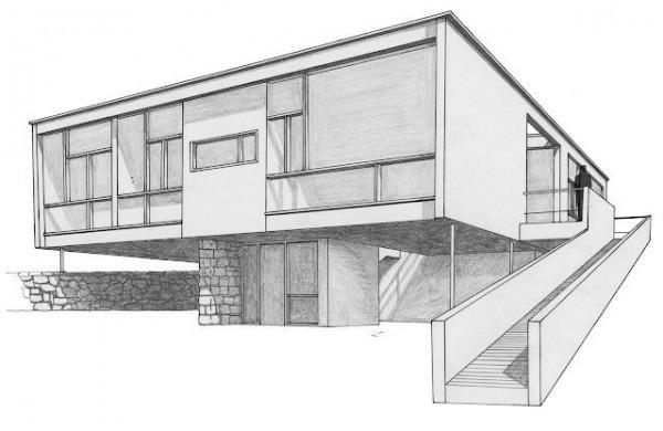 La Forma Moderna En Latinoamérica  Casa Seidler, Sidney  1948
