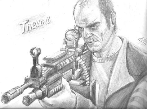 Trevor Philips (gta V) By Melinahthemixed