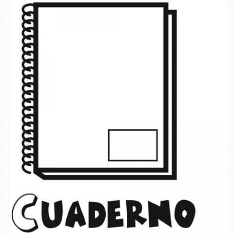Cuaderno  Dibujos Para Colorear