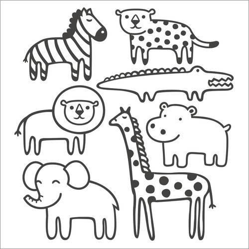 Pequeños Animales Del Zoológico