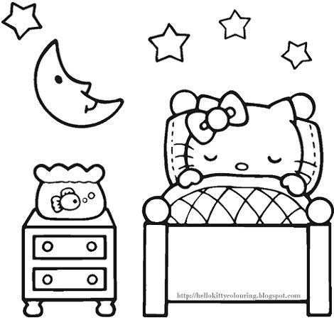 6 Dibujos De Hello Kitty Para Imprimir Gratis