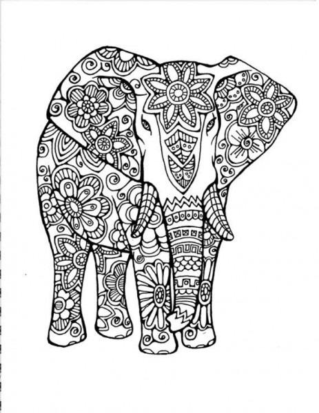 Mandalas De Animales Para Colorear Dificiles …