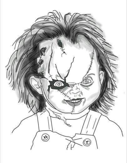 Resultado De Imagen Para Dibujos De Chucky El Muñeco Diabolico