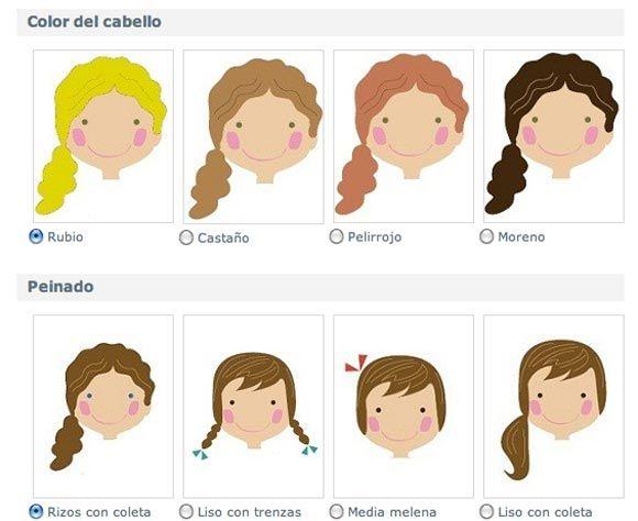Dibujos De Caras De Muñecas Para Colorear