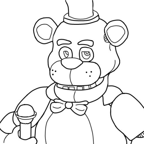 Desenhos Do Jogo Five Nights At Freddy S Para Pintar E