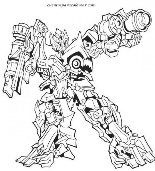 Dibujos De Transformers Para Colorear