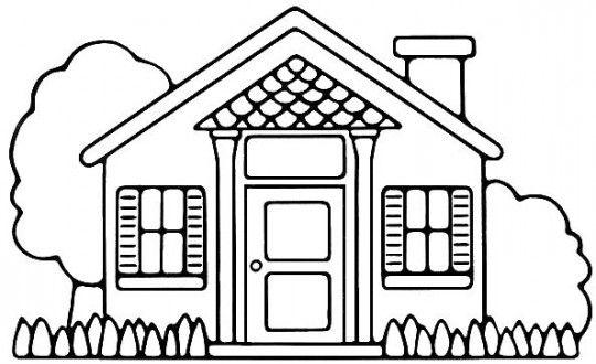 Arquitectónicos Dibujos De Casas Modernas Para Colorear