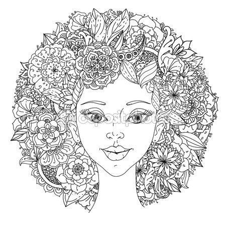 Mujeres Hermosas De Moda — Vector De Stock …