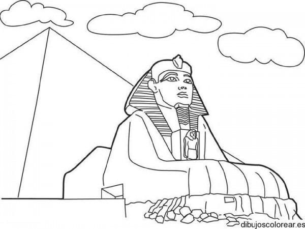 Dibujos Egipcios Para Colorear