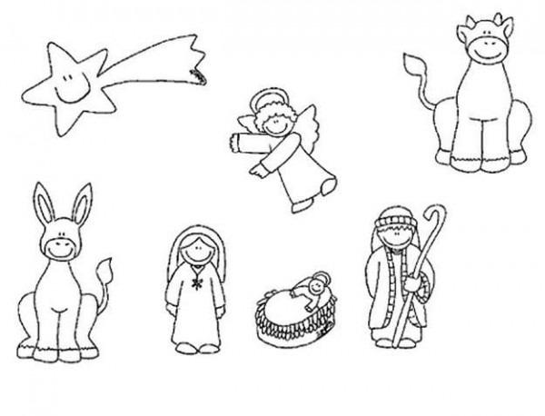 Adornos De Navidad Para Niños  Dibujos Para Colorear Y Recortar