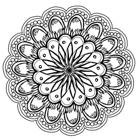 Beneficios De Colorear Mandalas Para Los Niños