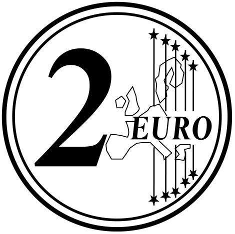 Euros Para Colorear