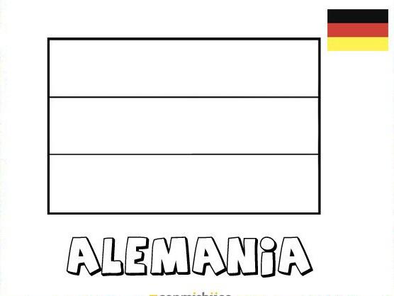 Dibujos De Banderas Para Colorear Y Pintar