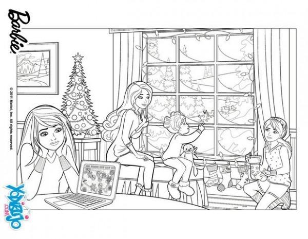 Juegos De Navidad Para Colorear En El Ordenador