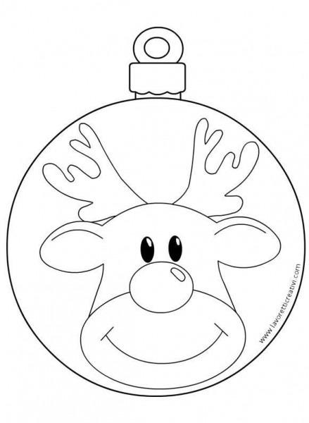 Resultado De Imagen Para Bolas De Navidad Con Cara De Reno Para