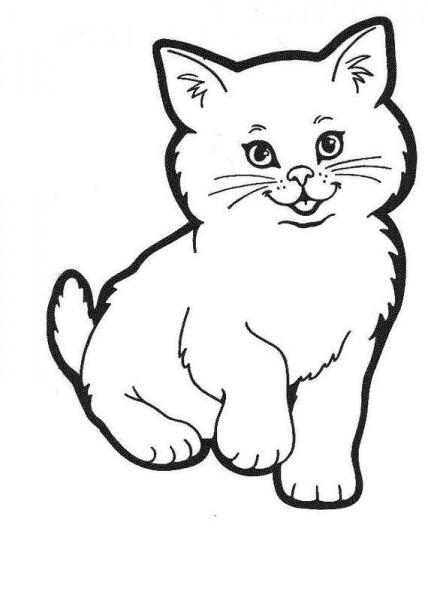 Resultado De Imagen De Gato Para Colorear
