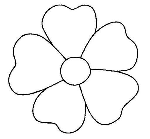 Flores Grandes Para Pintar