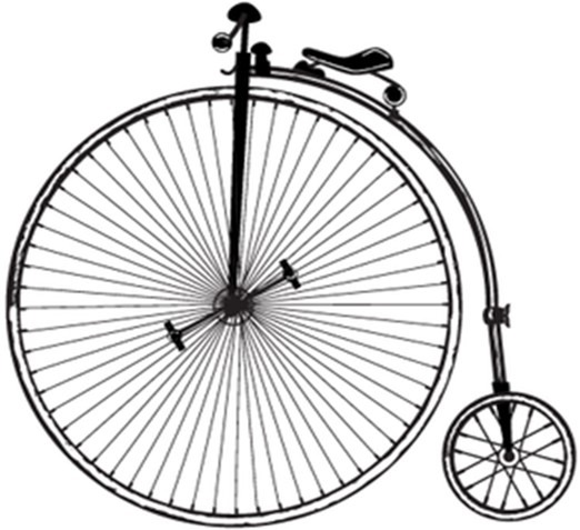 Bicicleta Para Colorear  Imágenes, Dibujos De Bicicleta Para Pintar