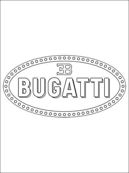 Bugatti Para Colorear