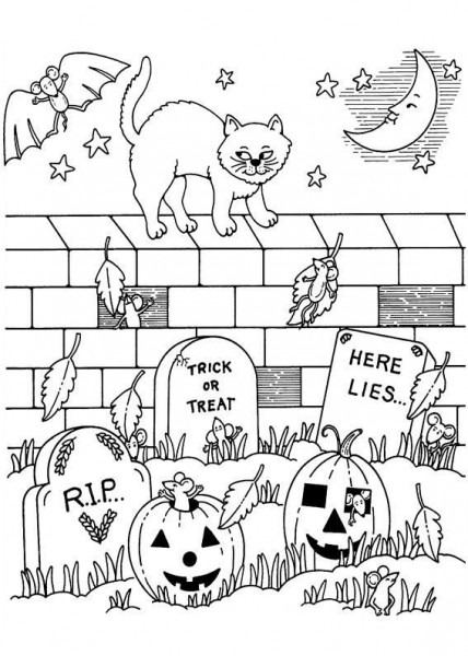 Halloween Holiday Fall Autum Trick