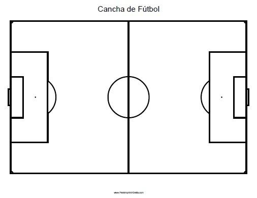 Campo Futbol Colorear