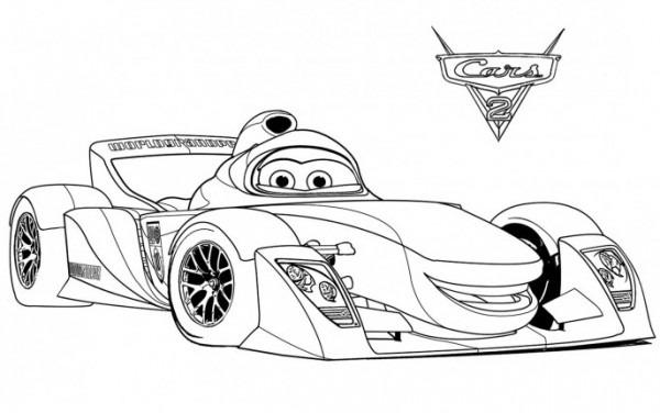 Juegos Sara  Dibujos Para Colorear De Cars